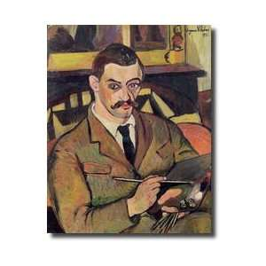 Portrait Of Maurice Utrillo 18831955 1921 Giclee Print