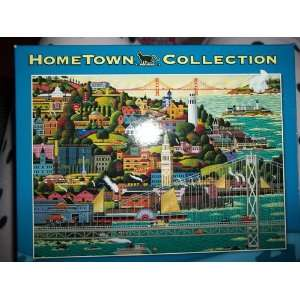 Collection San Francisco 1,000 Piece Jigsaw Puzzle Toys & Games