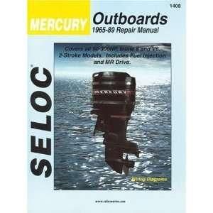 Seloc Mercury Outboards, 1965 89, Repair Manual: 90 300