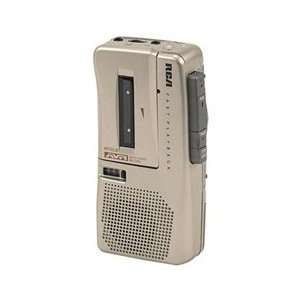 #AD RP3528 RCA Handheld Micro Cassette Recorder W/ Batteries & Tape