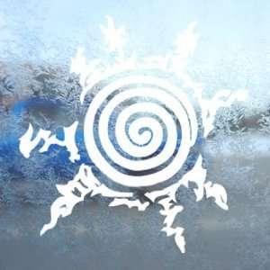 Naruto White Decal Seal Of Naruto Car Window Laptop White