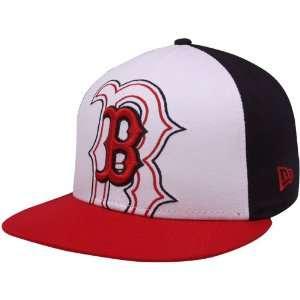 New Era Boston Red Sox Red White Black Little Big Pop