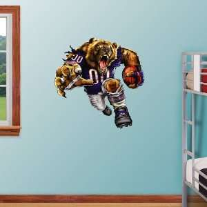 NFL Chicago Bears Bruiser Bear Vinyl Wall Graphic Decal Sticker