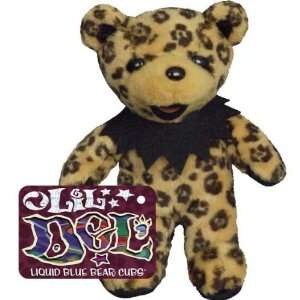 Grateful Dead   Lil Del   Bear Cub Plush Toy: Toys & Games