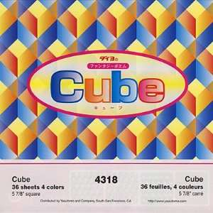 Cube Modern Art Origami Paper Arts, Crafts & Sewing