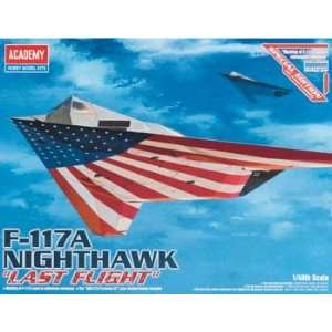 Academy   1/48 F 117A Nighthawk (Plastic Model Airplane) Toys & Games