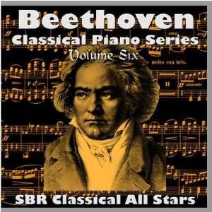 Beethoven Classical Piano Series Volume Six SBR Classical