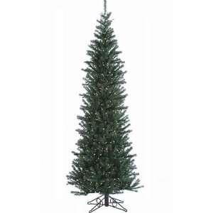 Alexandria Pine Pre Lit Artificial Christmas Tree   Sleek Pencil