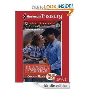 The Cowboy She Never Forgot (Silhouette Intimate Moments) Cheryl