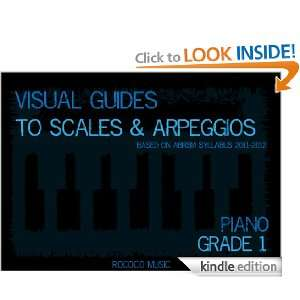 Visual Guides to Scales and Arpeggios Piano Grade 1: Charles Wu