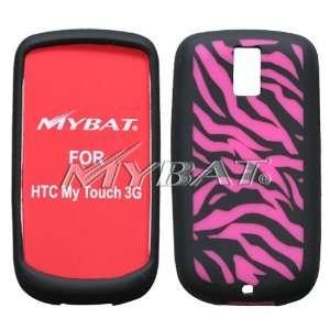 3G, Laser Zebra Skin (Hot Pink/Black) Skin Case