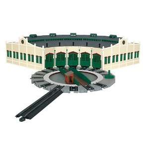 HO Tidmouth Sheds w/Manual Turntable Toys & Games
