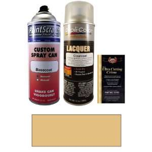 12.5 Oz. Shine Gold Metallic Spray Can Paint Kit for 1984 Mazda Wagon