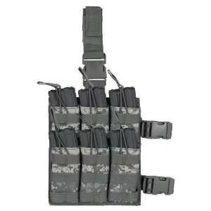 M4/M16 6 Magazine Drop Leg Shingle Mag Pouch ACU: Sports & Outdoors