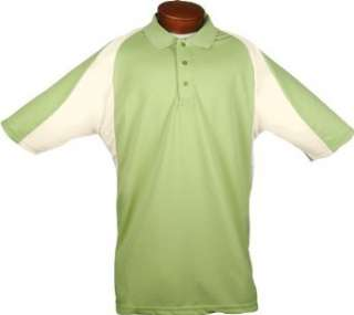Heritage Cross Mens Luxury Two Tone Polo Shirt Clothing
