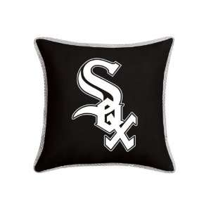 MLB Chicago White Sox MVP MicroSuede Square Accent Pillows Set of 2