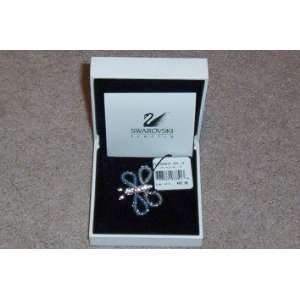 Swarovski Crystal Butterfly with Blue Wings    Retired    NEW IN BOX