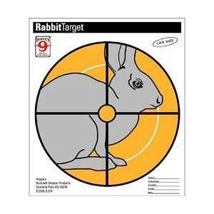 Critter Targets, Rabbit Paper Target, 20 Per Pack  Sports