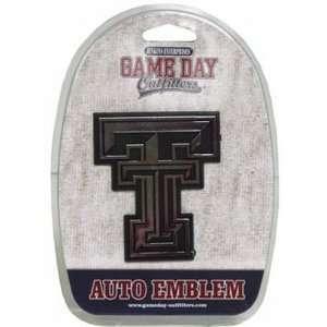 NCAA Texas Tech Red Raiders Car Emblem