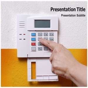 home automation PowerPoint Template   home automation PowerPoint (PPT