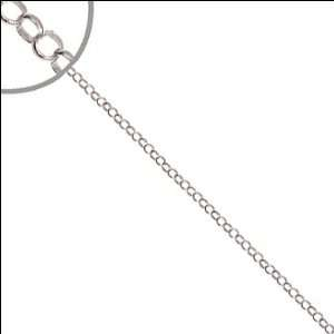 White Gold, Tiffany Rolo Cable Link Chain Necklace 2mm Wide Jewelry