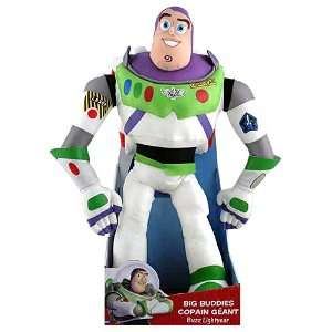 Toy Story 3 Big Buddies Buzz Lightyear Doll [19 inches] Toys & Games