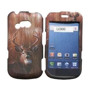 Buck Deer LG 900G Straight Talk Net 10 TracFone Case Cover