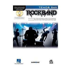 Rock Band Softcover with CD Tenor Sax
