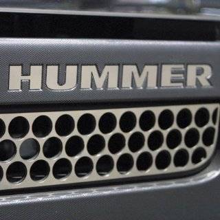 Hummer H3 Accessories   Stainless Steel Front Punch Lower