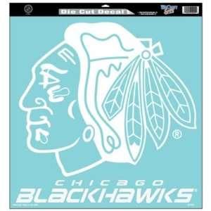 Wincraft Chicago Blackhawks 18x18 Die Cut Decal   Chicago
