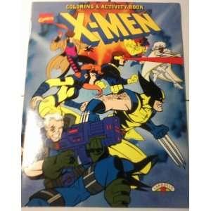 X MEN COLORING & ACTIVITY BOOK