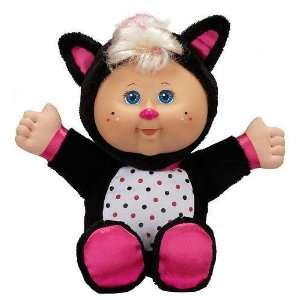 Cabbage Patch Kids Cuties Plush Doll   Pink & Black Skunk  Toys