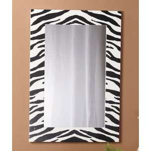 Zebra Mirror Wall Mirror Everything Else