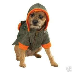 Zack&Zoey Quilted Field DOG Jumpsuit Coat OLIVE ExSMA