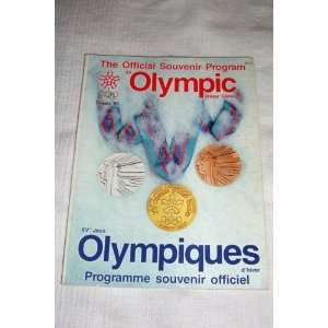 Official Souvenir Program XV Olympic Winter Games ed. Bob Dunn Books