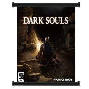 Dark Souls Game Fabric Wall Scroll Poster (16x18) Inches