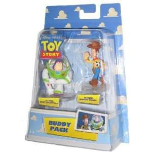 Toy Story Buddy Pack Buzz Lightyear & Woody Figure Set  Toys & Games