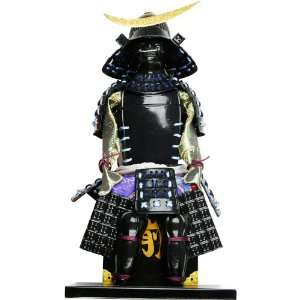 Black Samurai Warrior Figurine  Sports & Outdoors