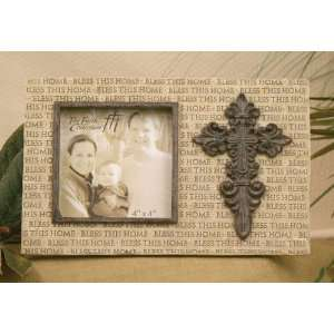Bless This Home 4x4 Photo Frame