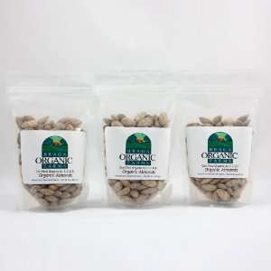 Braga Organic Farms Organic Garlic Flavored Almonds 3 of our 1/2 lb