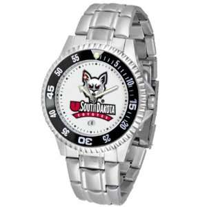 South Dakota Coyotes Competitor Mens Watch with Steel