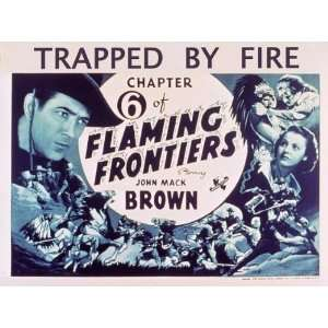 Flaming Frontiers Movie Poster (11 x 14 Inches   28cm x