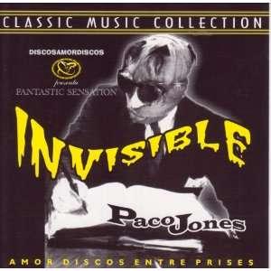 Invisible by Paco Jones(Audio CD album)