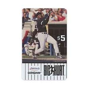 Collectible Phone Card $5. Frank Thomas Big Hurt Coin