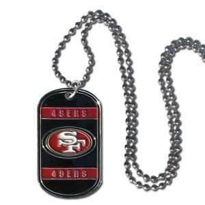 San Francisco 49ers Dog Tag   Neck Tag