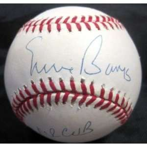 Ernie Banks Signed Baseball   Mr cub Official N l W jsa