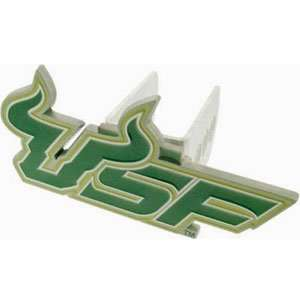 College Trailer Hitch Cover   S. Florida Rattlers