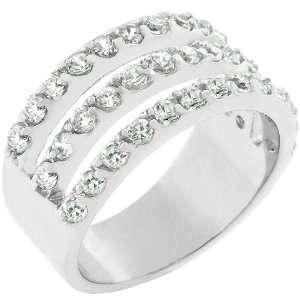 Triple Row Fashion Jewelry Ring Jewelry