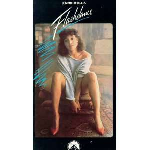 Flashdance [VHS] Jennifer Beals, Michael Nouri, Lilia