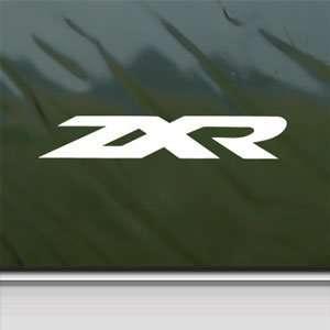 Kawasaki White Sticker Ninja ZX 2R Car Vinyl Window Laptop